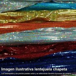 Tejido lentejuelas chapeta (Venta por metro)